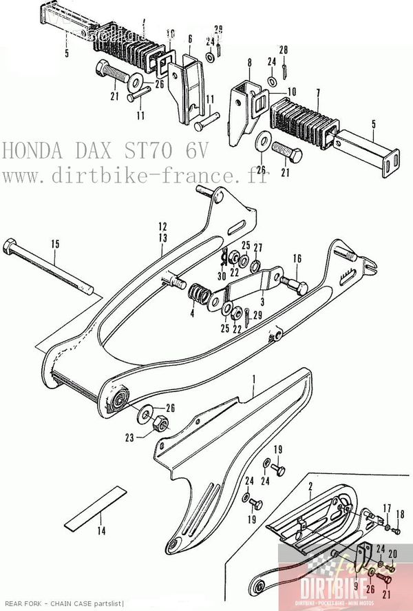 achat vente dirt bike pit bike dax monkey et pieces detachees