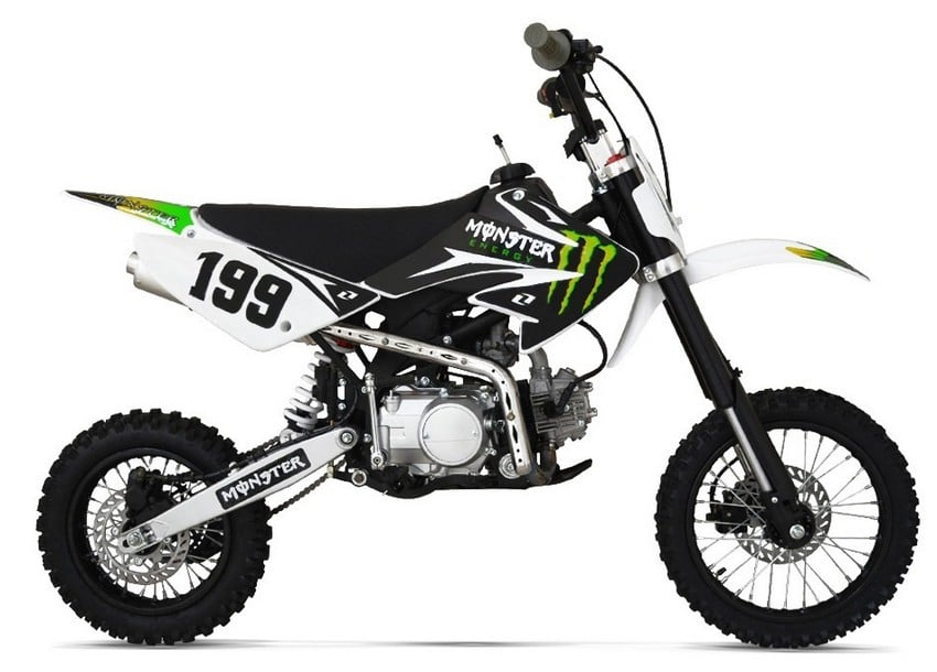 DIRT BIKE Monster 125 14-17 Pouces NITRO ref : 1111630M