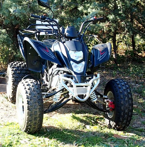 QUAD SHINERAY 200 ST-9 NOIR HOMOLOGUE OCCASION 266 KMS SHINERAY ref : ST-9NOIR1
