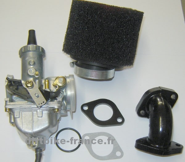 Kit Carburateur de 26/22 Mikuni + filtre mousse + pipe + joints VM22