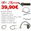 PACK COMMODO CABLE DAX SKYTEAM