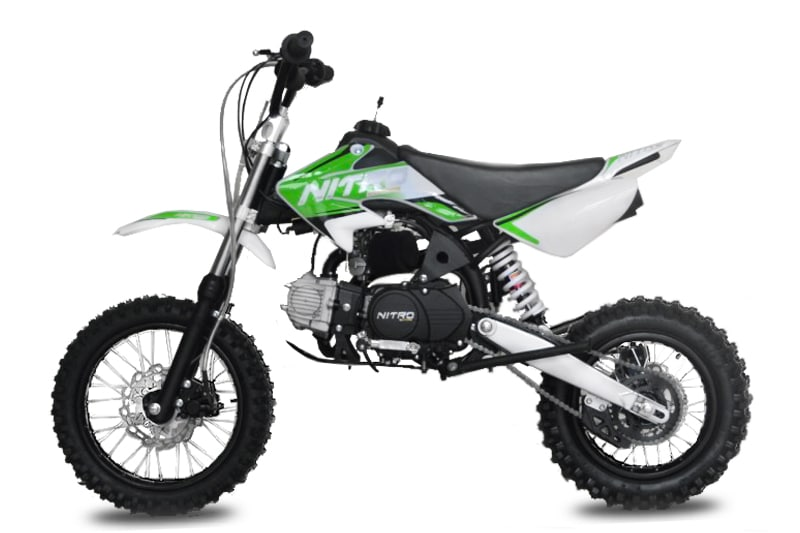 Dirt Bike 125 STORM 12-14 boite auto E-Start NITRO ref : 1111625