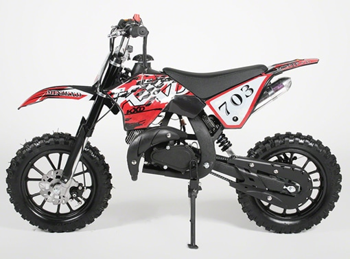 POCKET CROSS MINI KXD 10 pouces 49CC 2 Temps fabricant APOLLO