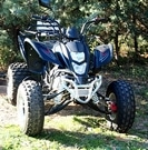 QUAD SHINERAY 200 ST-9 NOIR HOMOLOGUE OCCASION 266 KMS