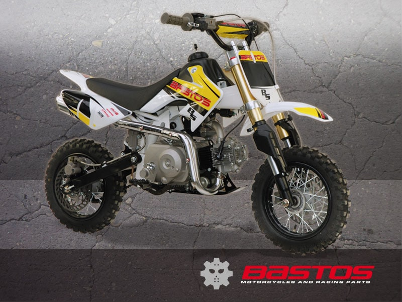 DIRT BIKE BS 70 MINI 4 TEMPS BASTOS