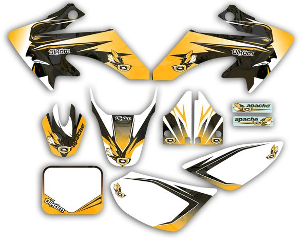 Kit DECO OLKOM dirt bike APACHE