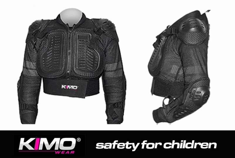 GILET DE PROTECTION ENFANT KIMO� PROTECTOR ONE M 9-12ANS