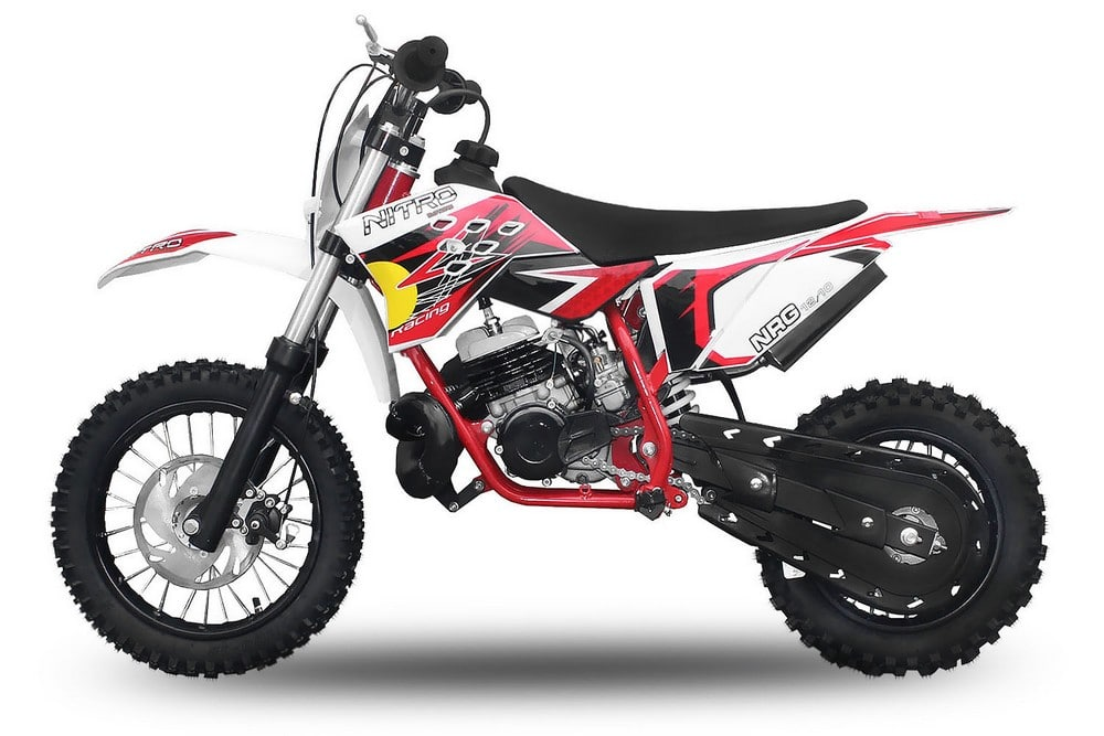 DIRT BIKE NRG 50 10/12 POUCES  2 Temps 9cv New NITRO ref : 1110452