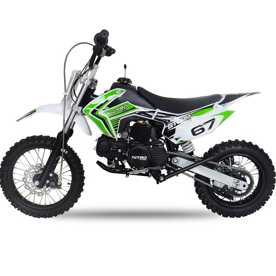 Dirt Bike 110cc STORM 12-14P V2