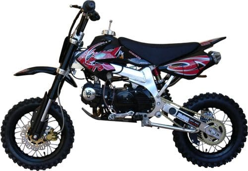 dirt bike rsr xl 125cc cadre p rim trique alu. Black Bedroom Furniture Sets. Home Design Ideas