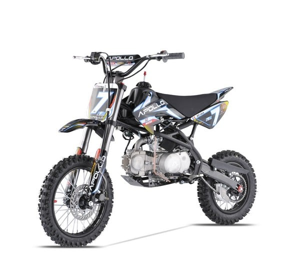 dirt bike apollo d2 race 125cc lifan. Black Bedroom Furniture Sets. Home Design Ideas