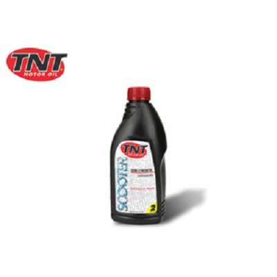 HUILE TNT MOTOR OIL 2T 1/2 SYNTHESE 1LITRE (20)