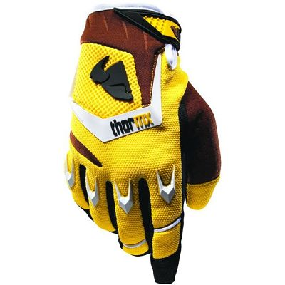 GANTS PHASE THOR YELLOW/BROWN TAILLE L