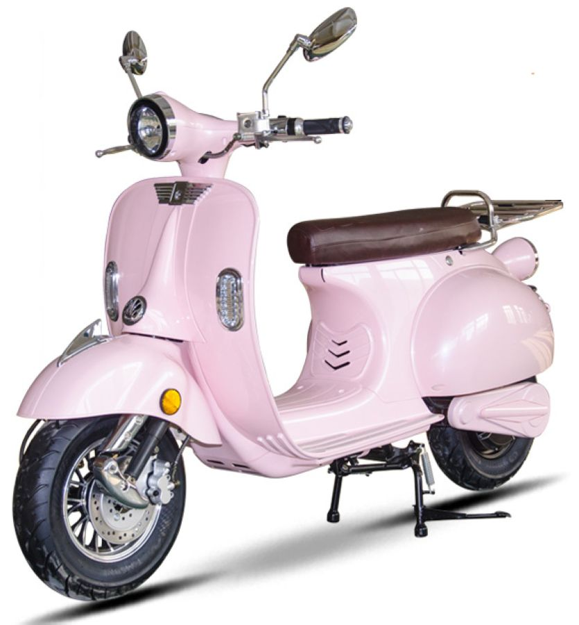 SCOOTER ELECTRIQUE AZUR RETRO 50 HOMOLOGUE 2 PLACES