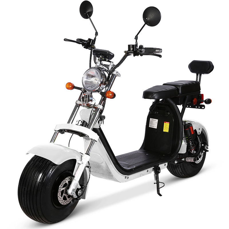 SCOOTER ELECTRIQUE AZUR 1500W HOMOLOGUE 2 PLACES  CITYCOCO ref : citycoco1500w