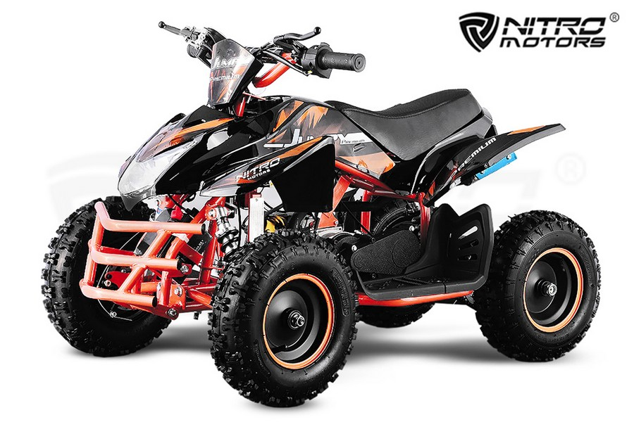 POCKET QUAD JUMPY PREMIUM 49CC 6 POUCES E-START 2 TEMPS
