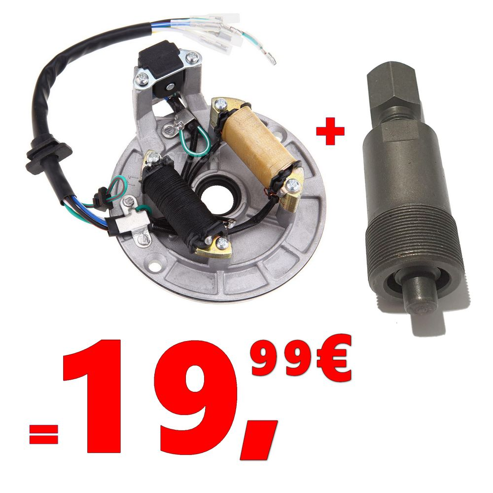 ALLUMAGE STATOR  + ARRACHE VOLANT DIRT BIKE