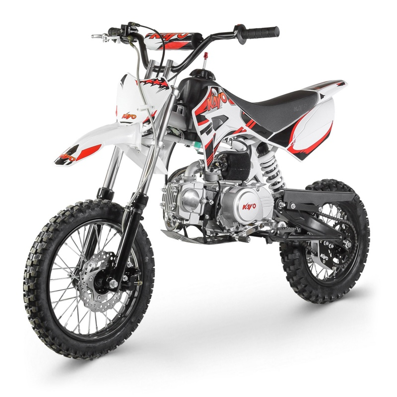 Dirt Bike 110CC KAYO  12-10 boite meca d�marreur kick