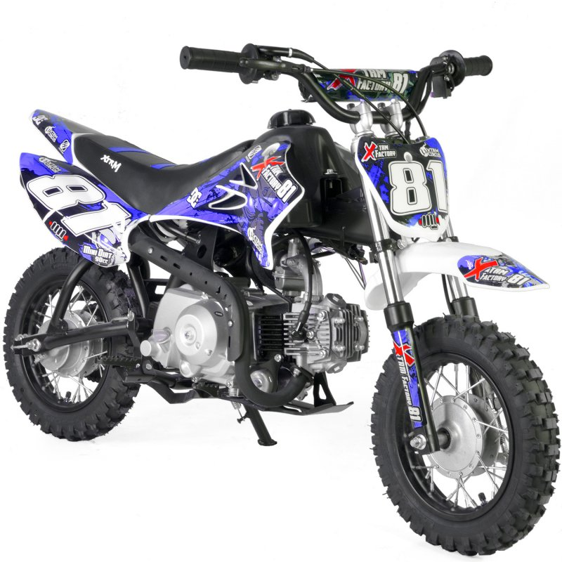 DIRT BIKE 90 MINI AUTOMATIQUE DEMARREUR ELECTRIQUE XTREM FACTORY ORION ref : M90AUTO2017+411188