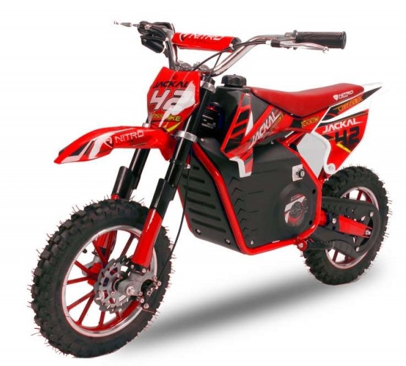 DIRT BIKE JACKAL ECO 1000W 36V ELECTRIQUE