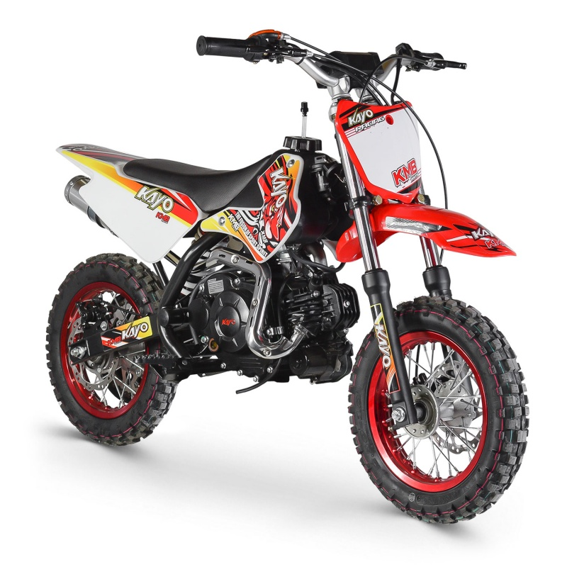 DIRT BIKE 60CC KAYO AUTOMATIQUE DEMARREUR ELECTRIQUE