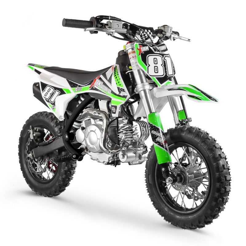 DIRT BIKE 60CC MX AUTOMATIQUE BLACK RACING XTREM FACTORY