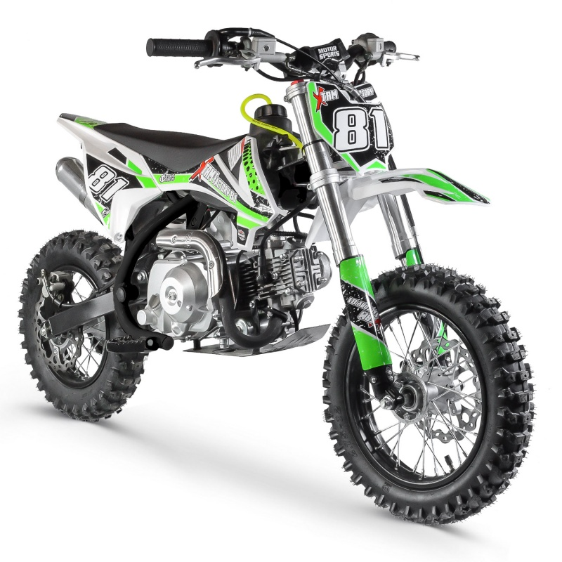 DIRT BIKE 70CC MX AUTOMATIQUE BLACK RACING XTREM FACTORY