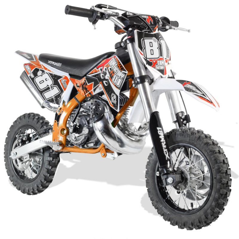 DIRT BIKE XTREM NRG 50 RACING 10/10 POUCES NEW DESIGN 3.5CV