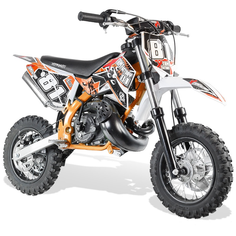 DIRT BIKE XTREM NRG 50 2T Racing 10/10 POUCES  3.5CV