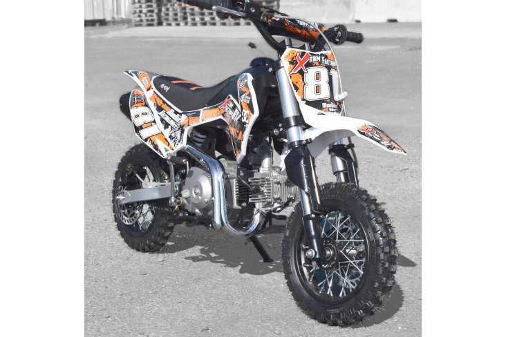 DIRT BIKE 90 MINI SEMI AUTOMATIQUE RACING XTREM FACTORY