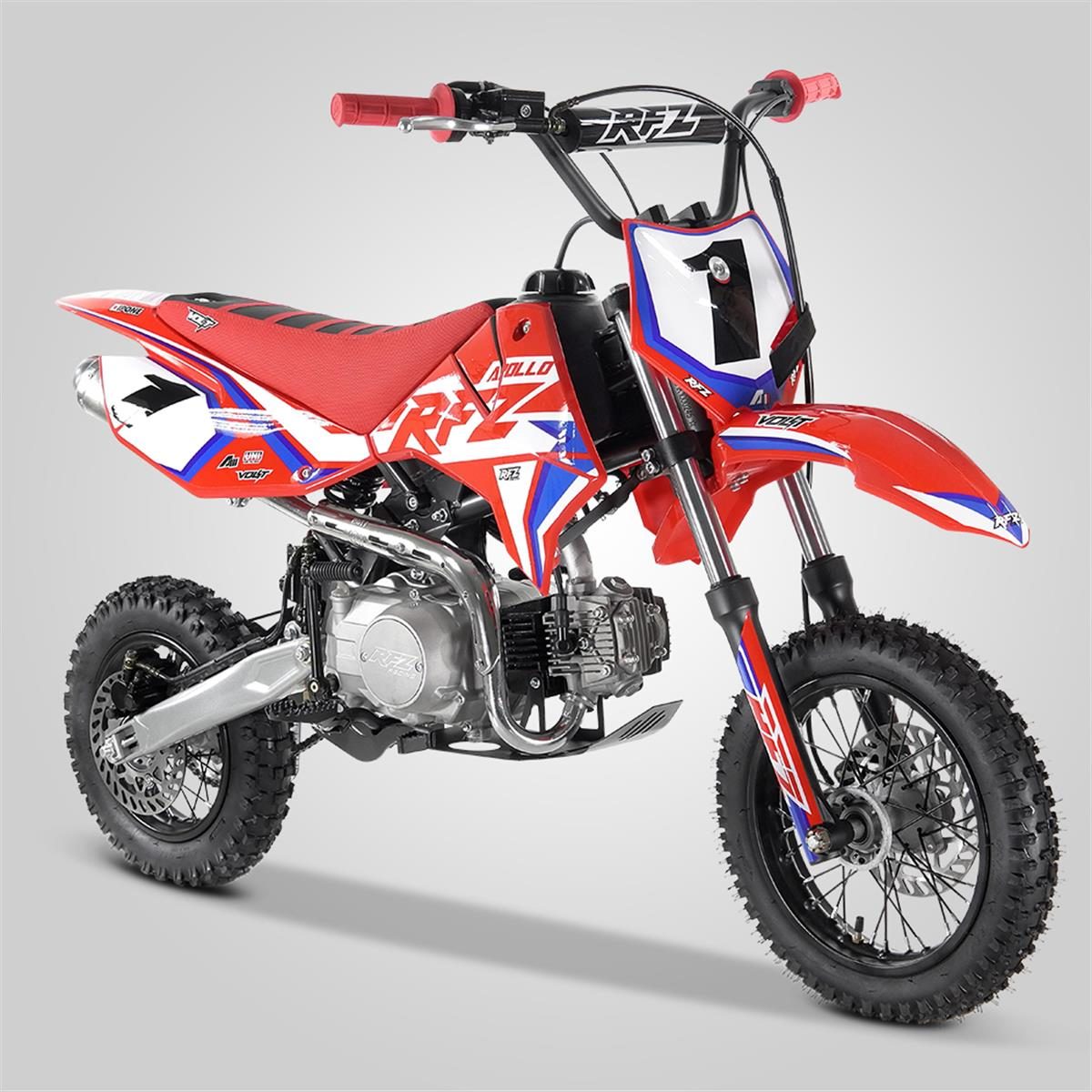 DIRT BIKE APOLLO RFZ ROOKIE 110CC SEMI AUTO 10/12 POUCES 2021