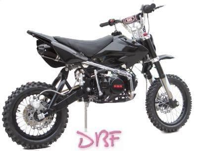 dirt bike rsr 125 black limited. Black Bedroom Furniture Sets. Home Design Ideas