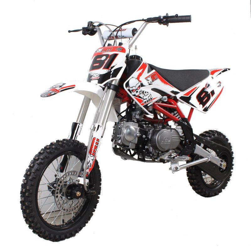 dirt bike 125cc xtr factor 125cc apollo dispo. Black Bedroom Furniture Sets. Home Design Ideas